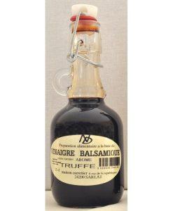 Vinaigre Balsamique de modem à la Truffe bouteille 25cl