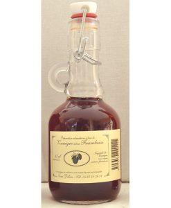 Vinaigre à la framboise bouteille 25cl